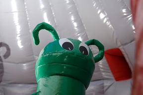 One of our friendly Aliens at Planet Kids
