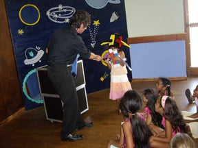 to add even more entertainment to your child's birthday party we can organise a great magician