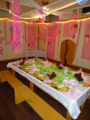 We organise any party you can dream of: here we did a fantastic Fairy party