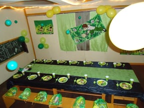 another themed party that was great: Ben 10