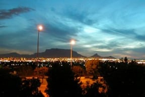 View from Plattekloof shopping center