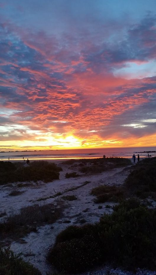 Paternoster sunset
