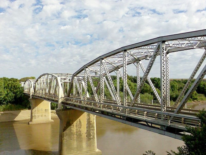 Bridge over Orange River at Aliwal North