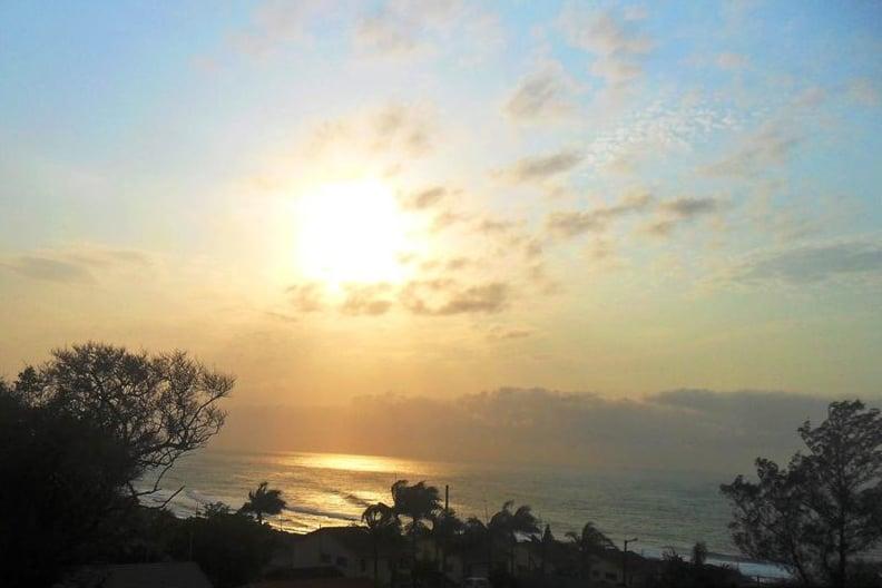 Hibberdene sunset