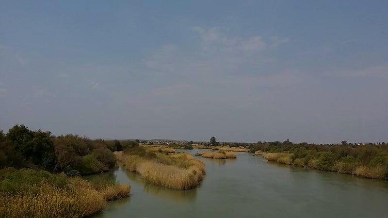 Orange Rive near Upington