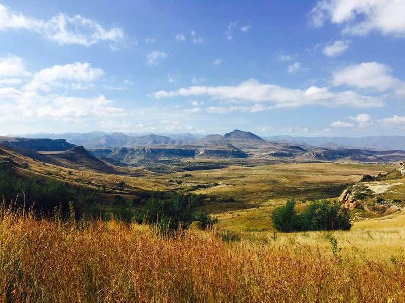 Omega Mountain Resort view, Clarens