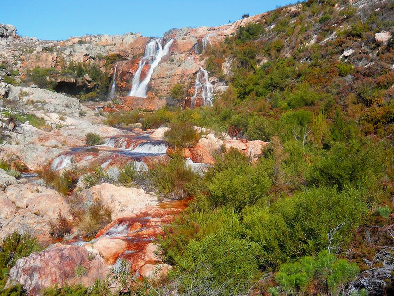 Waterfall hike - Cape Nature Tulbagh