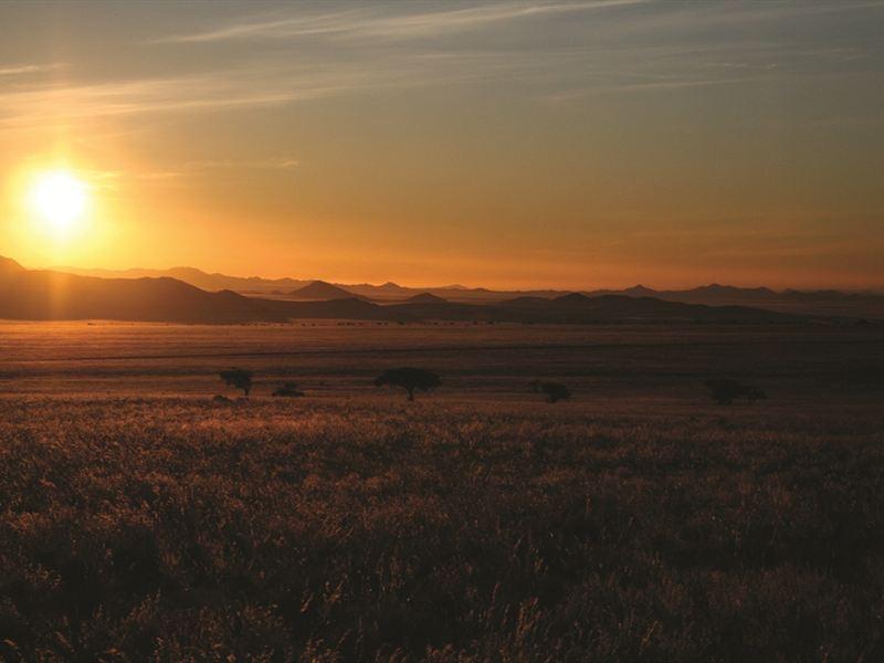 Sunset in Okahandja