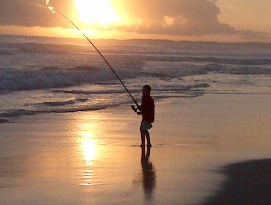 Fishing at Oyster Bay