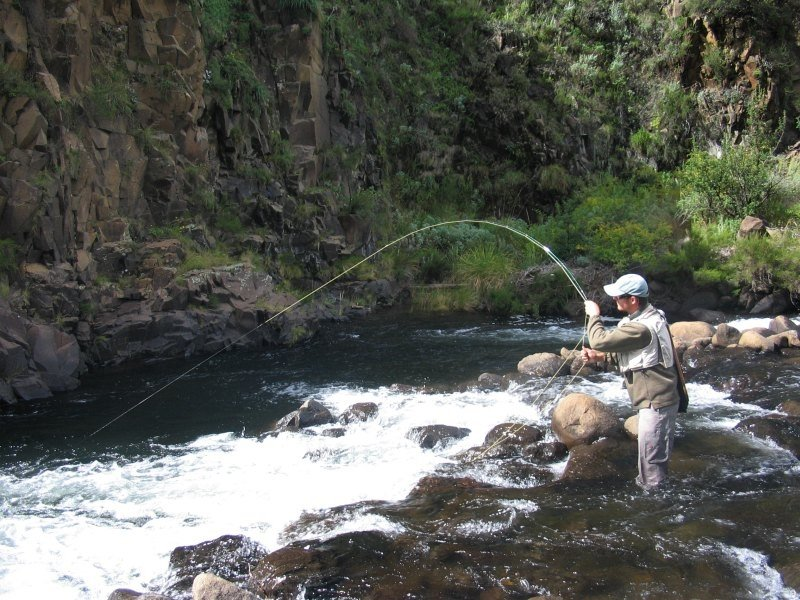Fly fishing, Rhodes