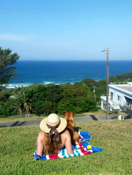 Ocean views above Zinkwazi Beach