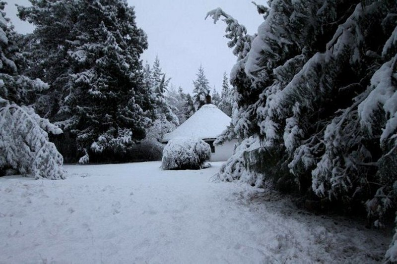 Hogsback in winter