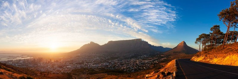Cape Town view from Signal Hill