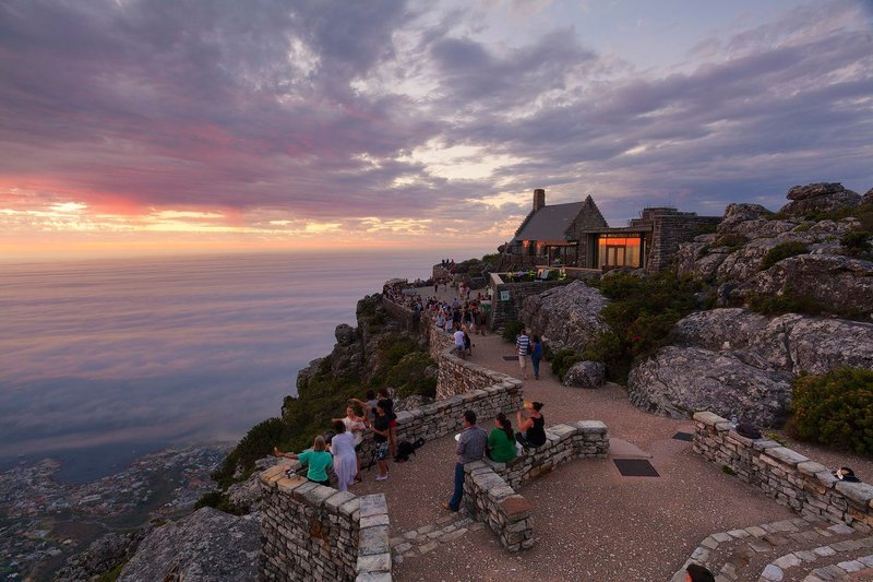 Table Mountain lookout