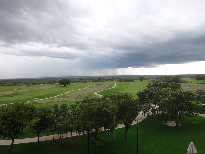 Waterberg thunderstorm, Euphoria Golf Estate