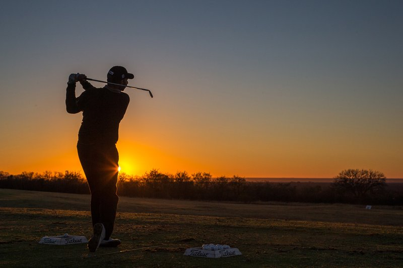 Teeing off in the Waterberg