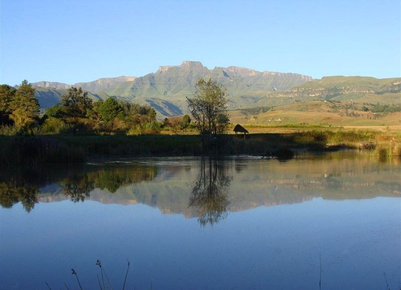 Drakensberg Park (World Heritage Site) and surrounds Model.PageTitle