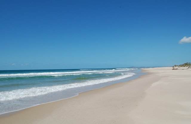 Pomene Bay Beach