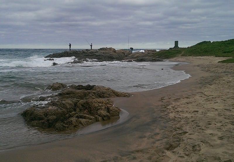 Fishing at Umzumbe Beach