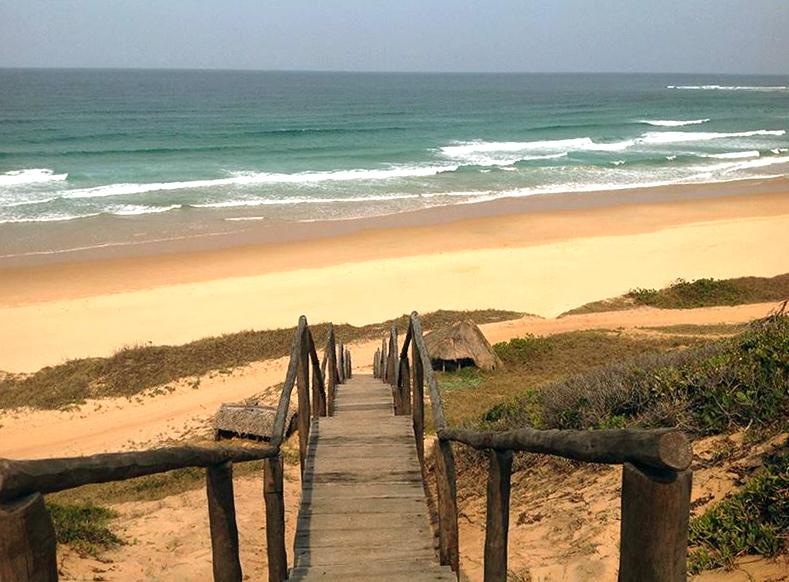 Guinjata beach, Mozambique