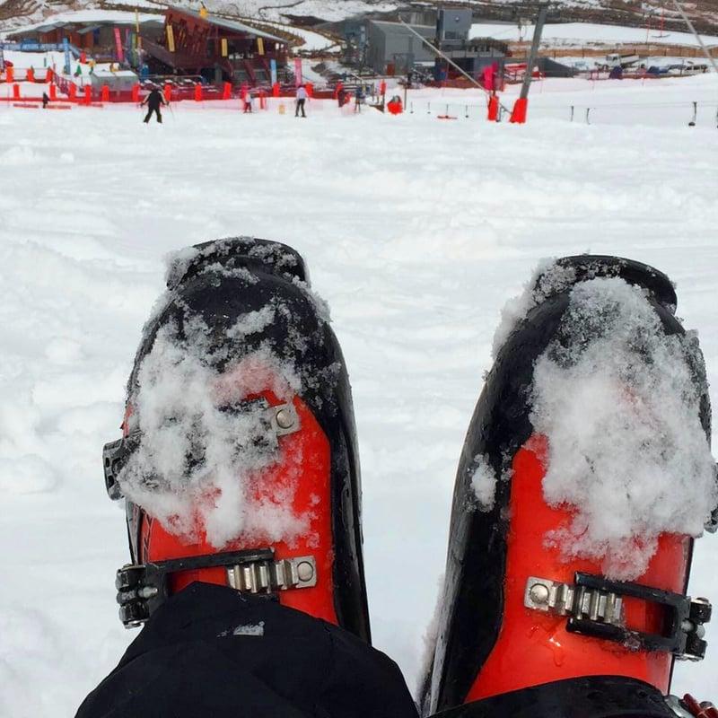 Skiing in Lesotho