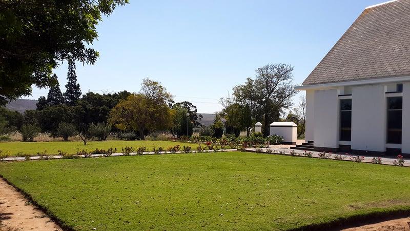 The Church garden in Klawer
