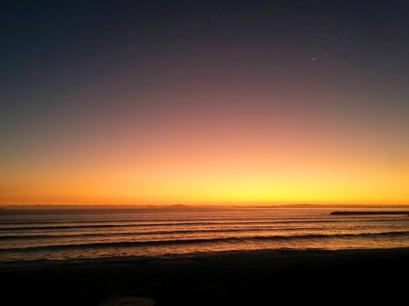 Calypso beach sunset, Langebaan