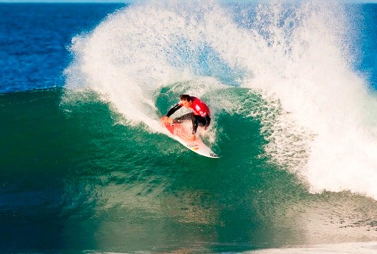 Surfing the point break, Kelso